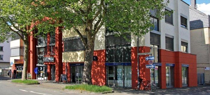 Das Gilbers & Baasch Bürogebäude von außen